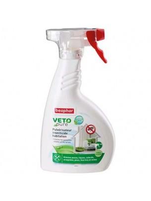 Beaphar Veto Pure Bio Environmental Spray - спрей за предпазване местообитанието на домашния любимец от бълхи, комари, кърлежи, въшки, акари и други насекоми- 400 мл..