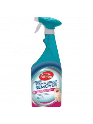 Simple Solution S&O Remover Spring Breez - Спрей елиминиращ неприятните миризми създадени от вашето куче с аромат на пролетен бриз - 750 мл.