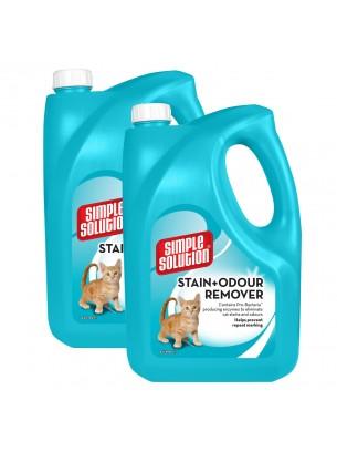Simple Solution Stain & Odour Remover - Спрей за котки за премахване на упорити петна и неприятна миризми - 4 л.