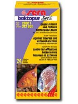 Sera bactopur direct - при бактерилани заболявания - 24 таблетки