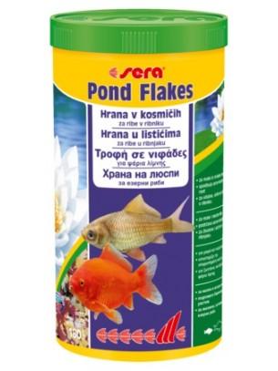 Sera Flakes - Балансирана храна на люспи за кои -  3800 ml.