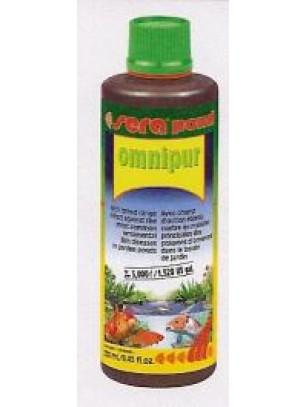 Sera Pond Оmnipur - широкоспектърен препарат срещу най-често срещаните болести при езерните риби - 250 мл. - дозировка 50 мл. За. 1000 л езерна вода