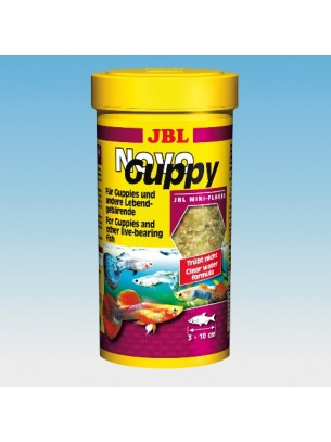 JBL NovoGuppy - Основна храна за гупи - 250 ml.