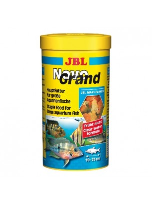 JBL NovoGrand - Основна храна за големи декоративни рибки - люспи - 1 l.