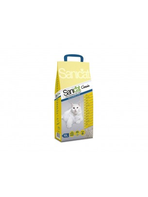 Sanicat Clumping Classic - икономична и удобна бентонитна котешка тоалетна за отлична хигиена и висока надеждност - 30л