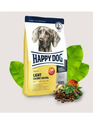 Happy Dog Light Calorie Control - пълноценна храна за кучета над 12 м., тегло над 11 кг. и ниска потребност от енергия - 1 кг.