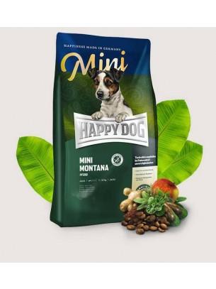 Happy Dog Supreme Mini Montana - Суха храна за кучета от малките породи над 1 година с конско месо и картофи - 4 кг.