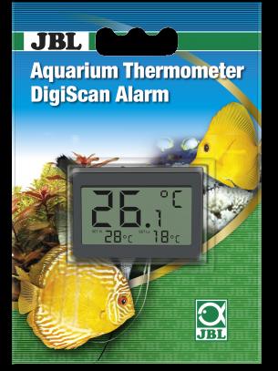 JBL Aquarium Thermometer DigiScan Alarm - аквариумен цифров термометър със сигнална функция