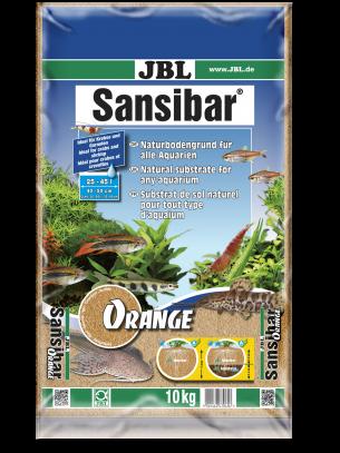 JBL Sansibar ORANGE  - дънен, подхранващ субстат за сладководни или соленоводни аквариуми и териариуми - 10 кг. - Оранжев