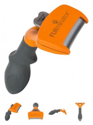 FURminator - Гребен FURminator за средно големи кучета с къса козина