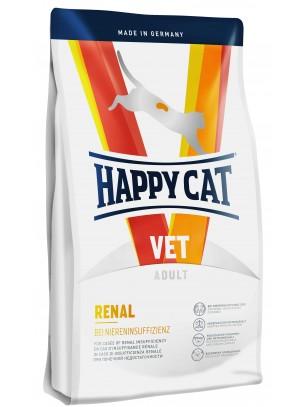 HAPPY CAT Niere - Renal - за котки над 12 месецас бъбречни проблеми - поддържа нормалната  функцият на бъбреците - с говеждо и пилешко месо - 1.4 кг.