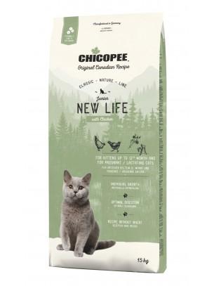 Chicopee Classic Nature Line Kitten - за подрастващи котки до 1 година - с пилешко месо - 15 кг.