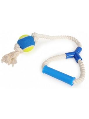 Camon - Играчка за куче - Топка с въже - 60 см.