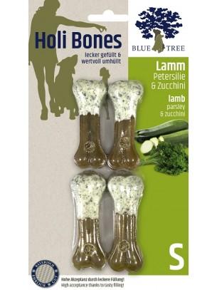 Blue Tree - Holi Bones - Неустоим кожен кокал с гнешко месо, магданоз и тиквички - 4 бр. Размер S