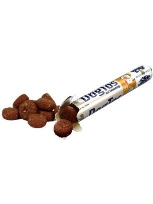 Blue Tree - DogTos - Лакомство за куче бонбони с патешко месо, ябълки и кокос - 25 гр.