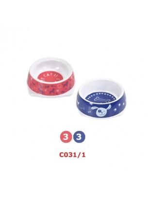 Camon - Купа за домашни любимци - 1.700 л. - синя, розова