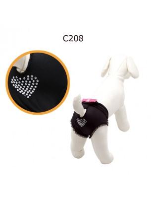"""CAMON - Бански за куче - размер """"0"""" - черни"""