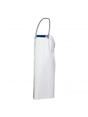FIAP - profiline White Apron 130 - Престилка за работа в мокра среда от високо качествен PVC материал - 1.300x890x5 мм. - 780 гр. - Бяла