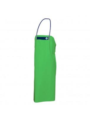 FIAP - profiline Green Apron 110 - Особено устойчива престилка за работа в мокра среда от високо качествен - специален PVC материал - 1.100x790x3 мм. - 316 гр. - Зелена