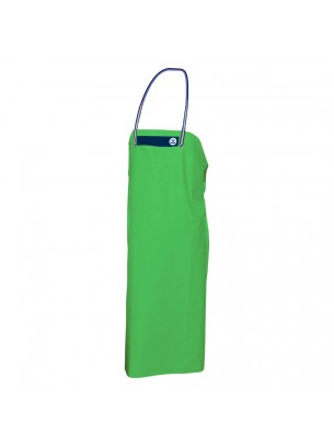FIAP - profiline Green Apron 130 - Особено устойчива престилка за работа в мокра среда от високо качествен - специален PVC материал - 1.300x890x3 мм. - 440 гр. - Зелена