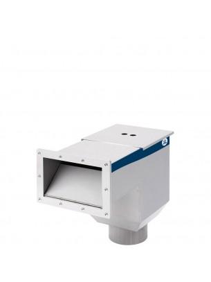 FIAP WallSkim Active - Професионален езерен скимер за вграждане за премахване от повърхността на по едрите частици мръсотия - за езера до 50 кв. м.