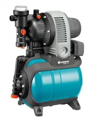 GARDENA Classic Хидрофорна уредба с разширителен съд 3000/4 eco