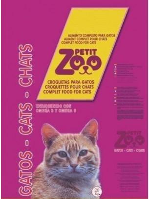 PETIT ZOO CAT MIX 3 COLOR - Суха храна за котки над 1 година - микс - 20 кг.