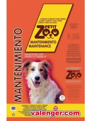 PETIT ZOO MAINTENANCE 1 COLOR - Балансирана храна за кучета над 1 година - 20 кг.