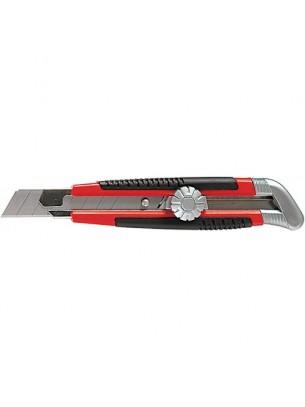 MTX Germany - Нож макетен с изтеглящо се острие и винтов фиксатор на острието - 18 mm.