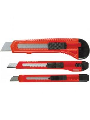 MTX Germany - Комплект макетни ножчета с изтеглящи се остриета - 9-9-18 mm. - 3 бр.