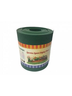 Standartpark - Пластмасов, ограничителен бордюр - 900 х 15 х 0.1 см. - зелен, кафяв или черен