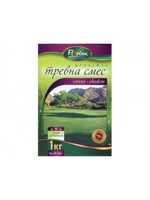 Тревна смеска - Сянка - тревна смес подходяща за сеняести терени - 1 кг.