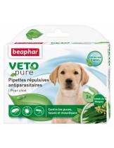 Beaphar Bio Sopt On Puppy - репелентни, антипаразитни капки за малки кученца - 3 пипети от 1 мл.