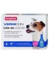 Beaphar - Vermicon Line-on - спот он капки с Димитикон за кучета от дребните породи до 15 кг. без инсектицид - 3 бр.