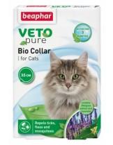 Beaphar Veto Pure от Beaphar- Противопаразитен репелентен нашийник за израстнали котки на билкова основа