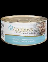 Applaws Tuna Fillet in Broth - високо качествен консерва за котки над 12 месеца с месо от риба тон в бульон - 70 гр.