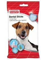 Beaphar Dental Sticks Small - дентални пръчки за свеж дъх и чисти зъби - 7 бр. - 112 гр.