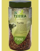 JR Farm - Висококачествена храна за костенурки, богата на протеини от скариди и ларви на комар - 70 гр.