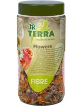 JR Farm Terra Fibre Flowers - лакомство за влечуги - Цветя сушени - 50 гр.