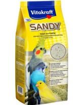 Vitakraft Sandy - Пясък за птици 3+ високоминерализиран, трикомпонентен - 2.5 кг.