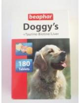 Beaphar - витамини за кучета микс - биотин, дроб, шунка - 180 бр.