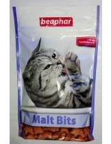 Beaphar Malt Bits - Малцови хапки за котка против космени топки - 32 гр.