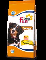 Fun Dog Energy 26/12 - пълноценна храна за кучета със завишена физическа активност над 12 месеца - 20 кг.