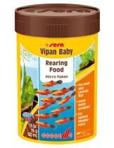 Sera Vipan baby - балансирана храна за малки рибки - 100 мл.