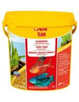 Sera San- храна за подобряване окраската и подсилване цветовете нарибките в аквариума - 2 кг.