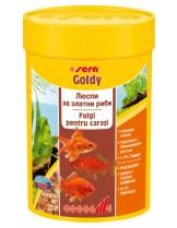 Sera Goldy - всекидневна гранулирана храна за всички видове златни и езерни риби - 1000 ml.