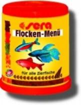 Sera flake Menu - четири високо - качествени храни в една опаковка - 150 ml.