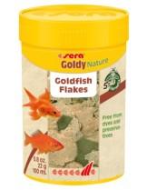Sera Goldy Nature - основна храна за златни рибки - без оцветители и консерванти - 100 мл.