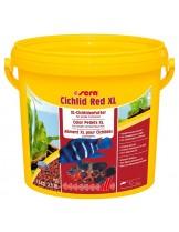 SeraCichlid Red XL- основна храна за големи месоядни цихлиди - 1000 мл.