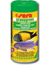 Sera Granugreen veggie pallest – балансирана храна за растителноядни цихлиди - 250 мл.